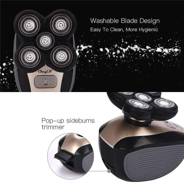 [Best Seller+Free Shipping]4D Floating 5 Head Electric Shaver Pro