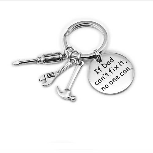 Creative tool key chain for DAD