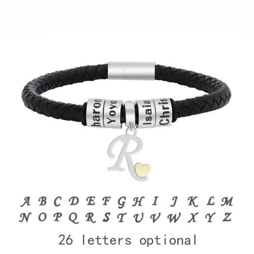 Fashion custom family bracelet for men