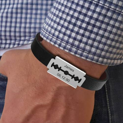 Retro Shaver Bracelet, new and unique gift, the Best Father's Day Gift