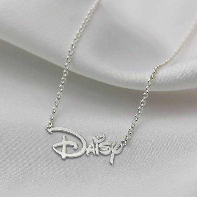Custom Princess Style Name Necklace