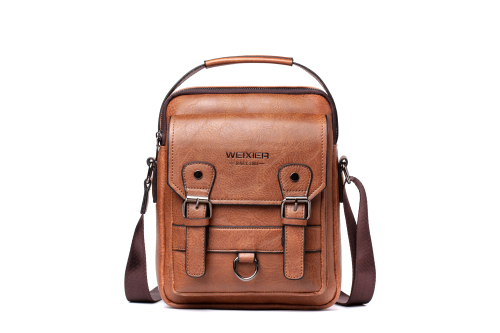 New men's shoulder bag men's casual backpack Aliexpress retro messenger bag cross-body bag men's trend
