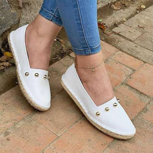 Sheilawears Women Comfy Flat Shoes Espadrilles