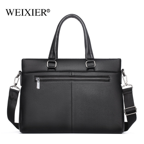New men's business handbag, one-shoulder slant across large capacity office laptop bag, business briefcase