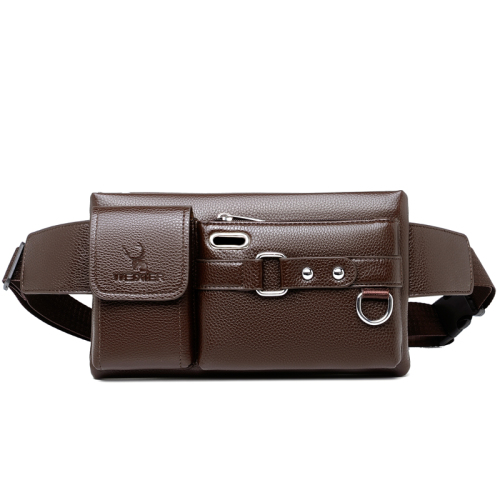 Men's bag new men's sport belt multifunctional outdoor travel PU cross-body bag cycling belt man