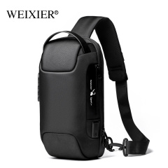 New summer chest bag USB anti-theft outdoor casual shoulder bag waterproof cross-body bag for men chest bag